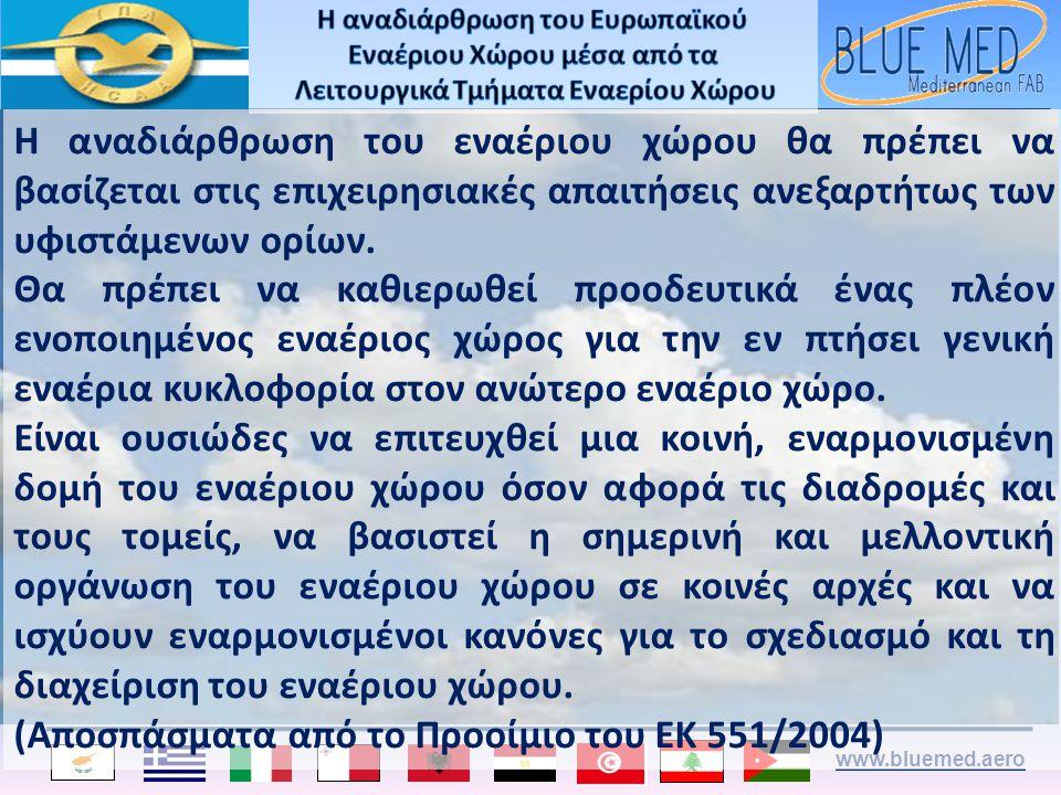 (Αποσπάσματα από το Προοίμιο του ΕΚ 551/2004)