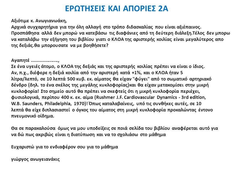 ΕΡΩΤΗΣΕΙΣ ΚΑΙ ΑΠΟΡΙΕΣ 2Α