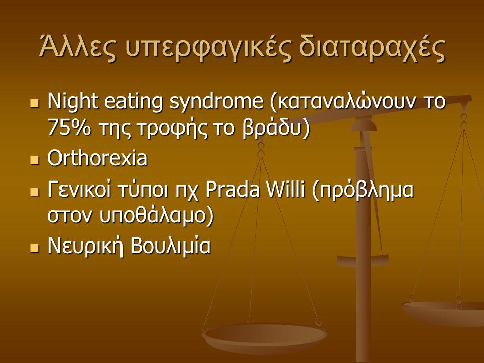 Άλλες υπερφαγικές διαταραχές