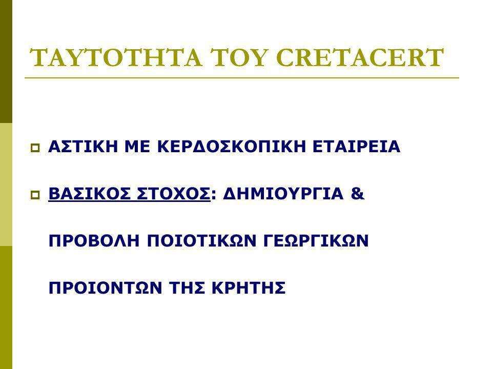 TAYTOTHTA TOY CRETACERT