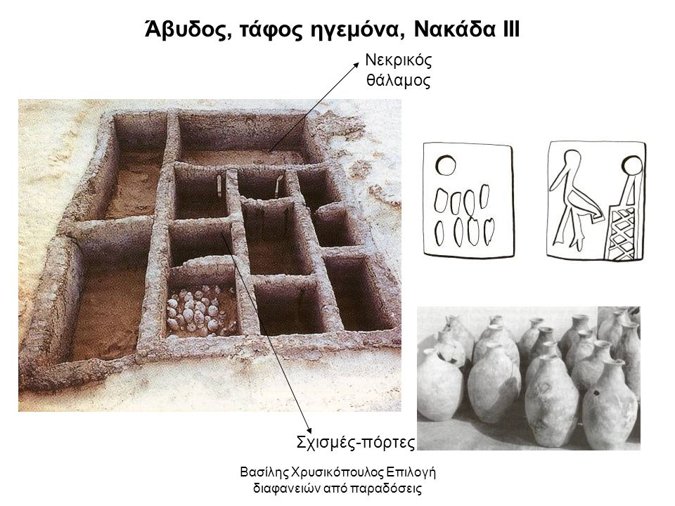 Άβυδος, τάφος ηγεμόνα, Νακάδα ΙΙΙ