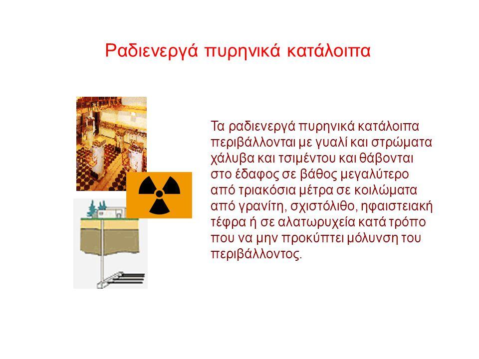 Ραδιενεργά πυρηνικά κατάλοιπα