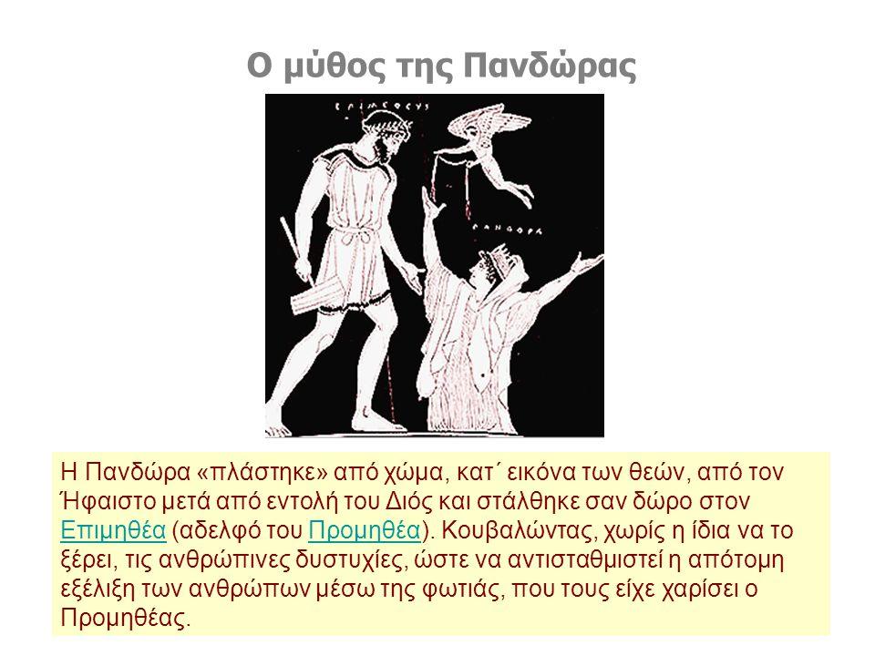 Ο μύθος της Πανδώρας