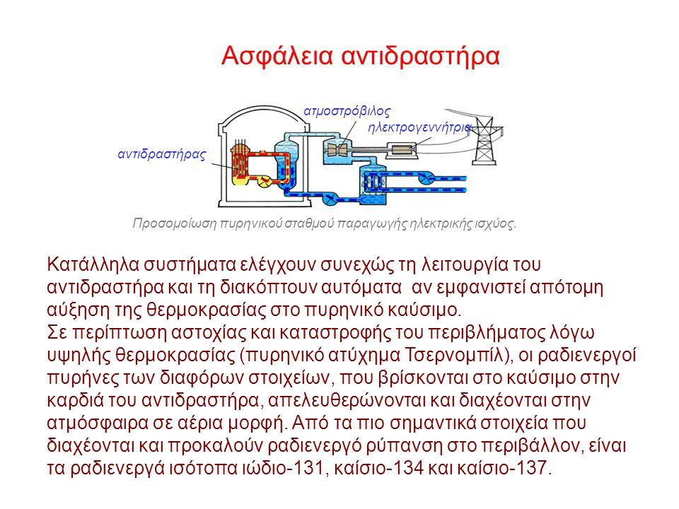 Ασφάλεια αντιδραστήρα