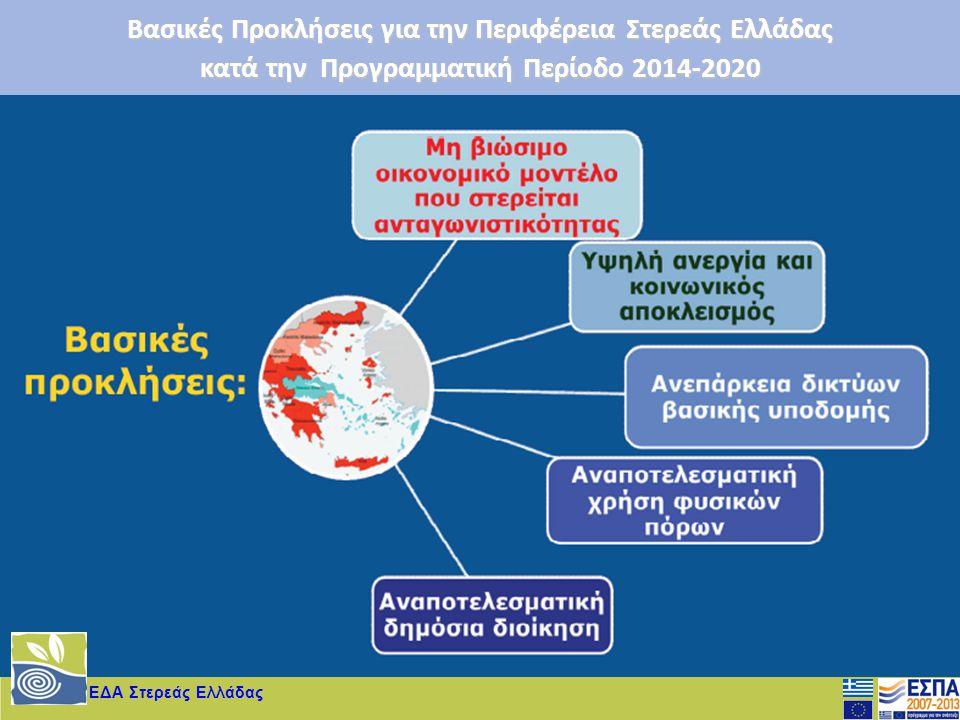 Βασικές Προκλήσεις για την Περιφέρεια Στερεάς Ελλάδας