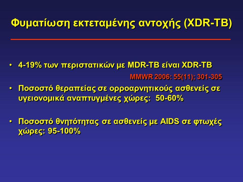 Φυματίωση εκτεταμένης αντοχής (XDR-TB)