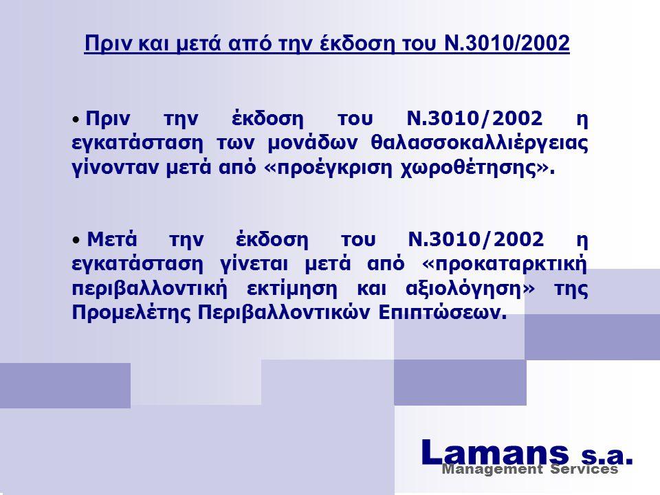 Πριν και μετά από την έκδοση του Ν.3010/2002