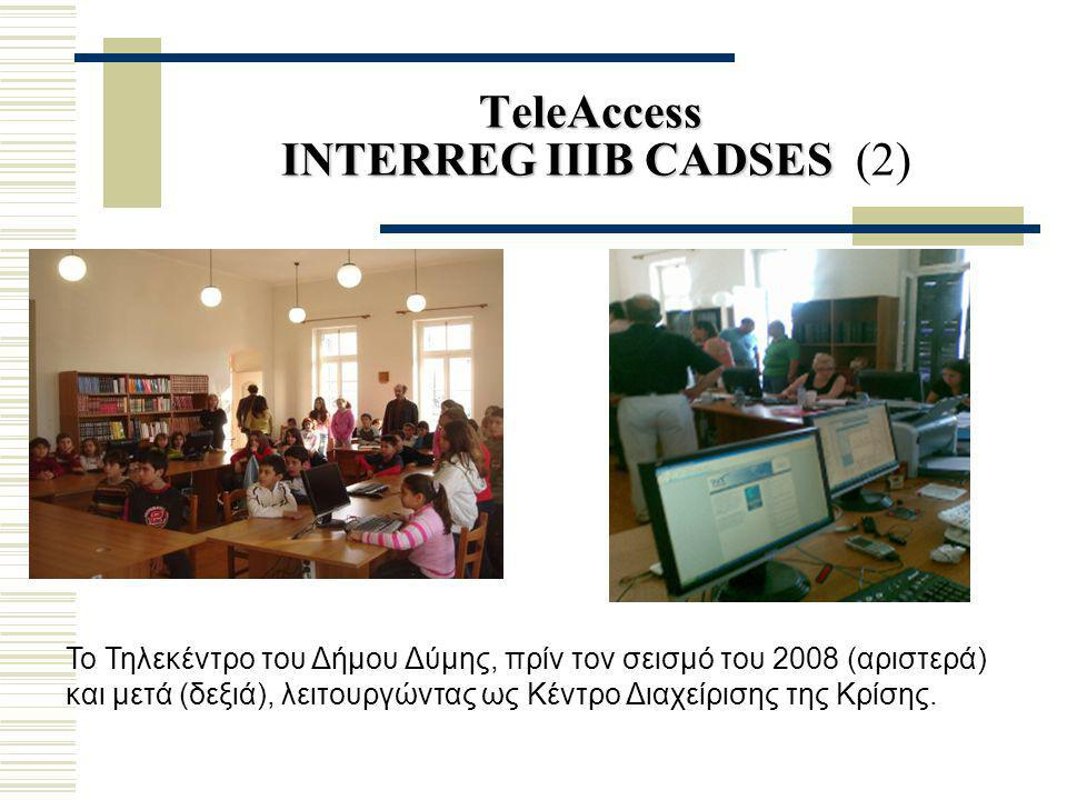 TeleAccess INTERREG IIIB CADSES (2)