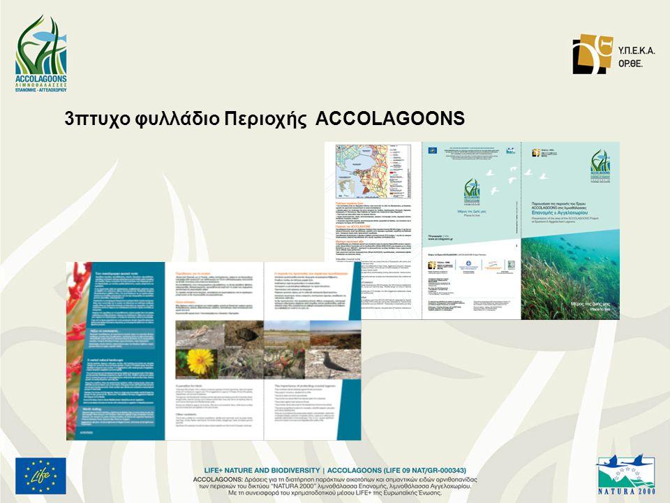 3πτυχο φυλλάδιο Περιοχής ACCOLAGOONS