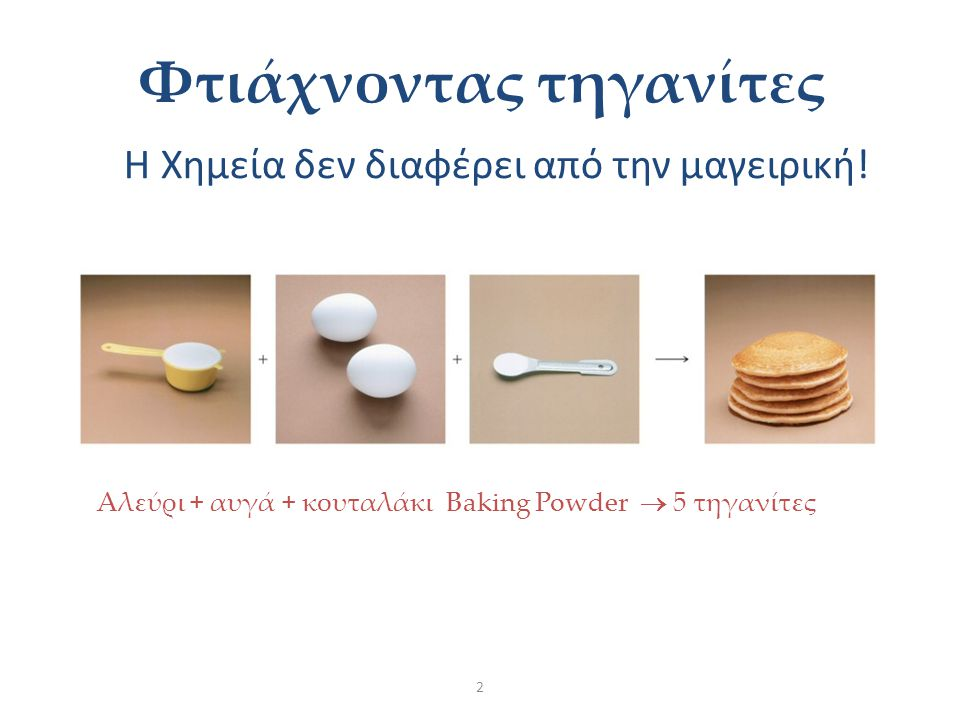 Φτιάχνοντας τηγανίτες
