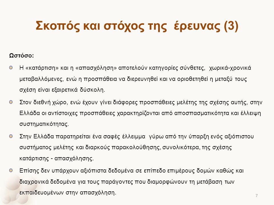 Σκοπός και στόχος της έρευνας (3)