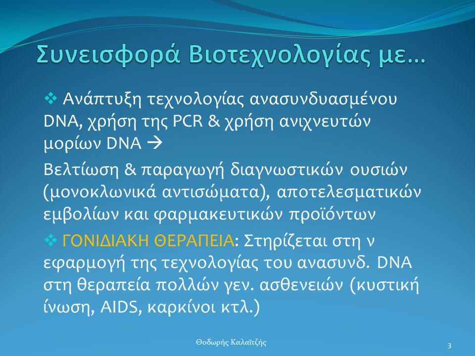 Συνεισφορά Βιοτεχνολογίας με…