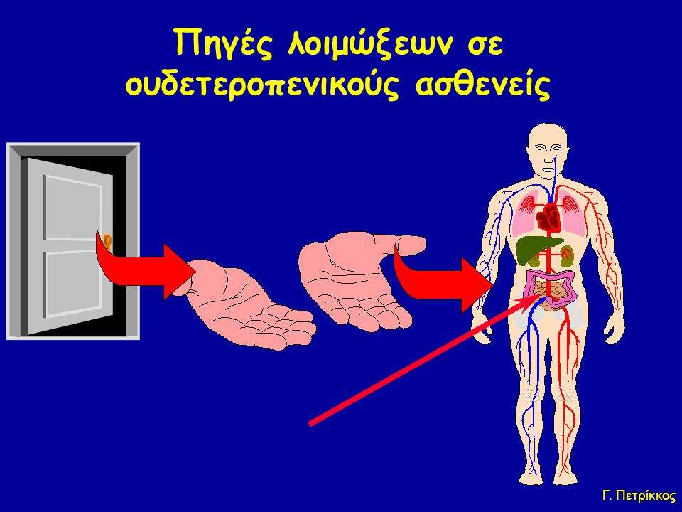 Πηγές λοιμώξεων σε ουδετεροπενικούς ασθενείς