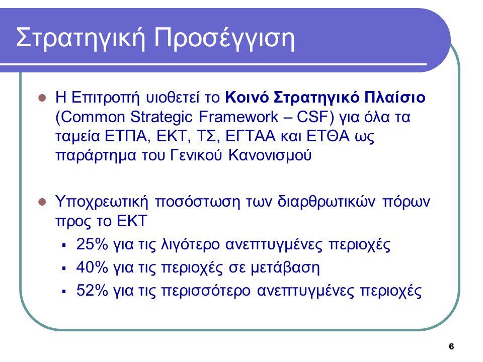 Στρατηγική Προσέγγιση