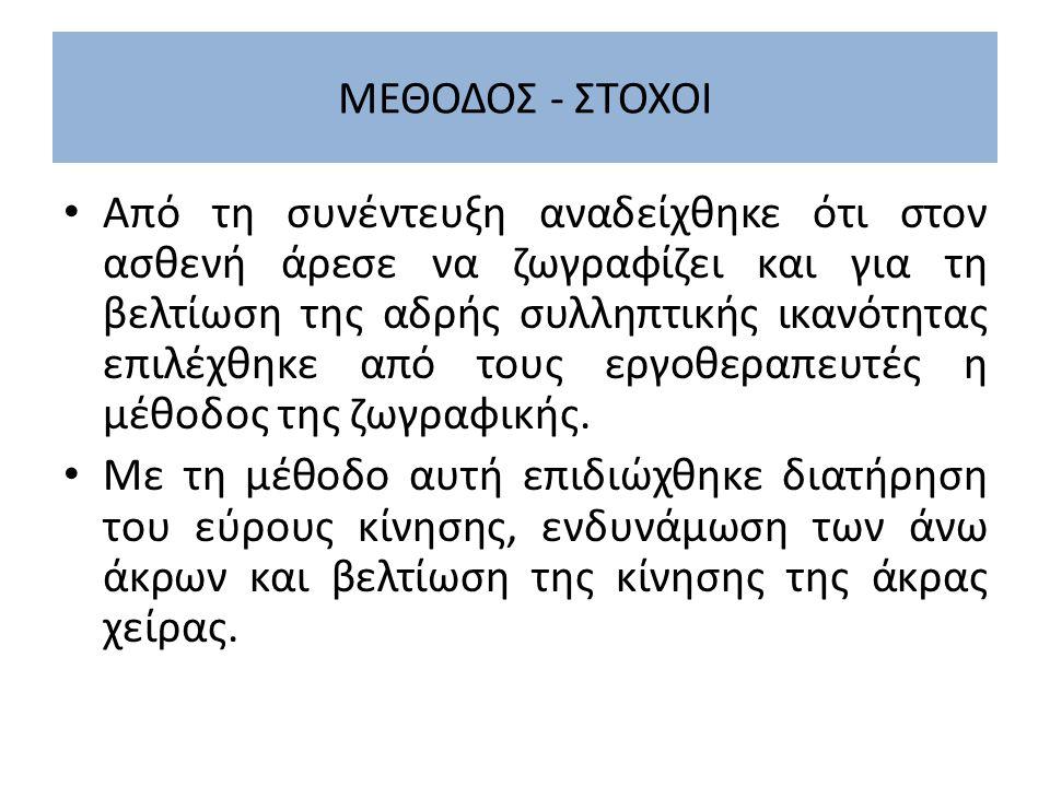 ΜΕΘΟΔΟΣ - ΣΤΟΧΟΙ