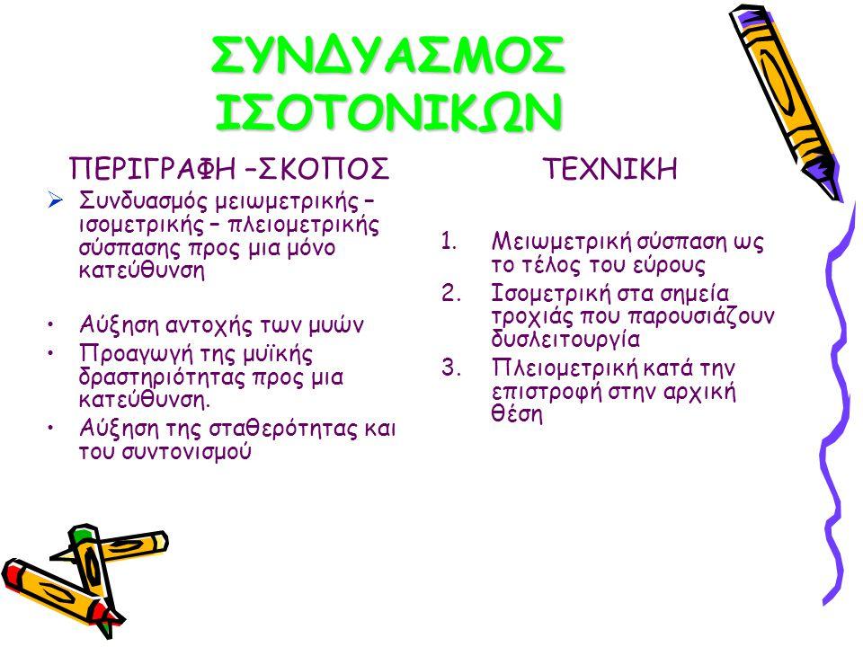 ΣΥΝΔΥΑΣΜΟΣ ΙΣΟΤΟΝΙΚΩΝ