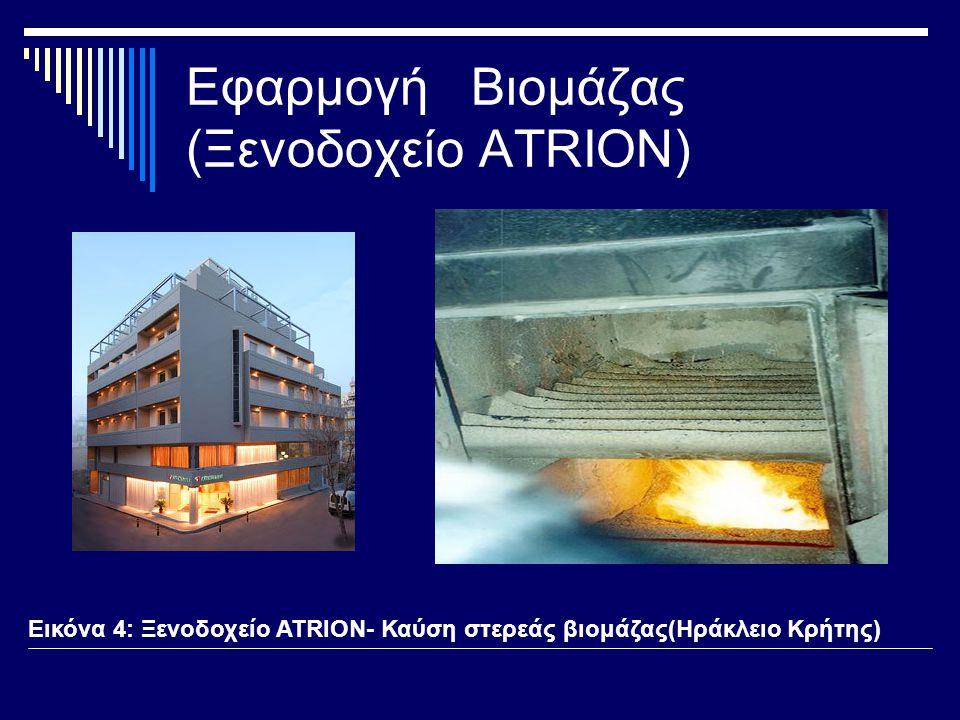 Εφαρμογή Βιομάζας (Ξενοδοχείο ATRION)