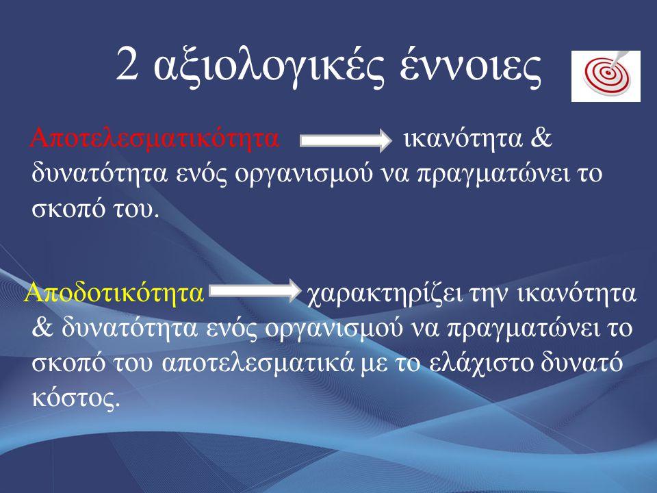 2 αξιολογικές έννοιες
