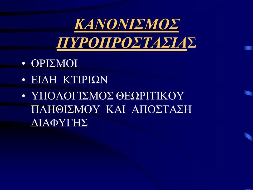 ΚΑΝΟΝΙΣΜΟΣ ΠΥΡΟΠΡΟΣΤΑΣΙΑΣ