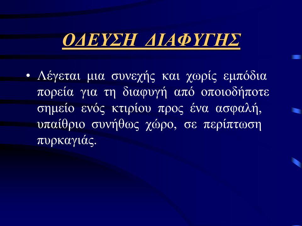 ΟΔΕΥΣΗ ΔΙΑΦΥΓΗΣ