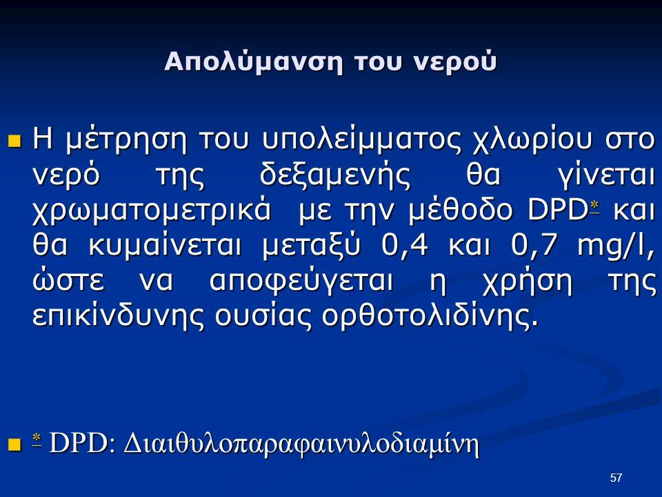  DPD: Διαιθυλοπαραφαινυλοδιαμίνη