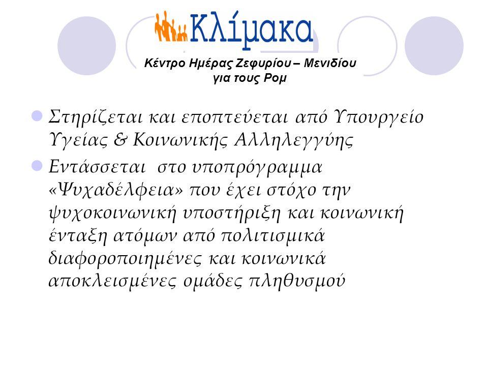Κέντρο Ημέρας Ζεφυρίου – Μενιδίου