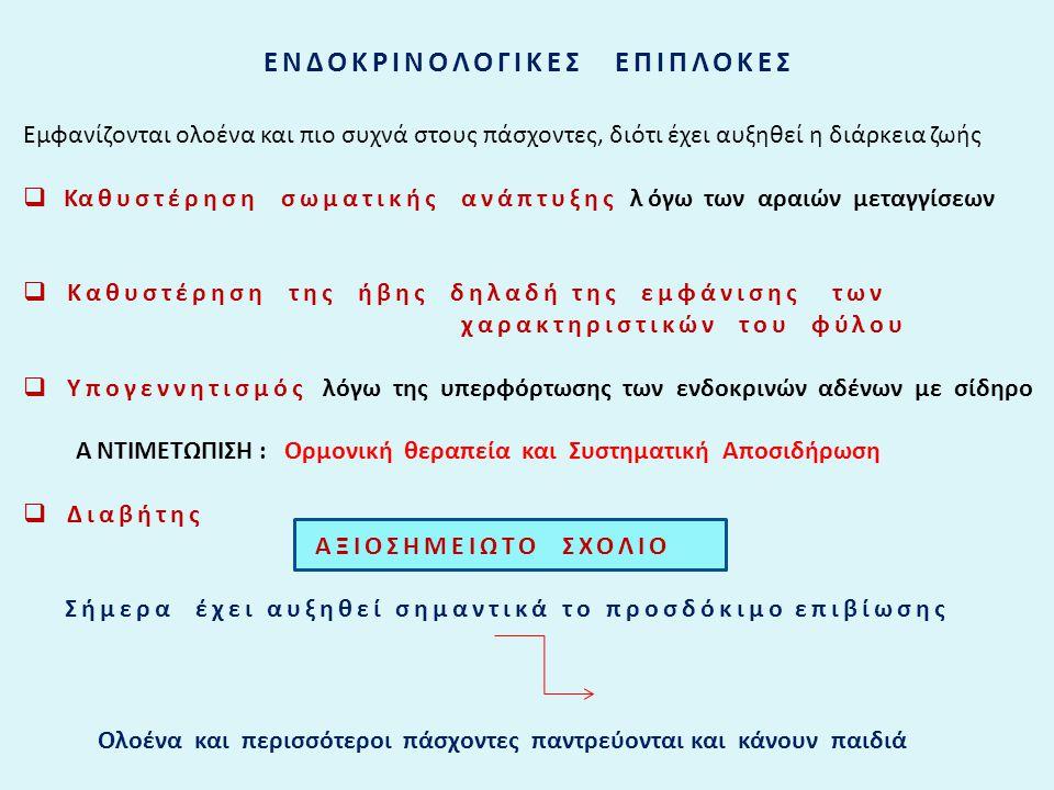 EΝΔΟΚΡΙΝΟΛΟΓΙΚΕΣ ΕΠΙΠΛΟΚΕΣ