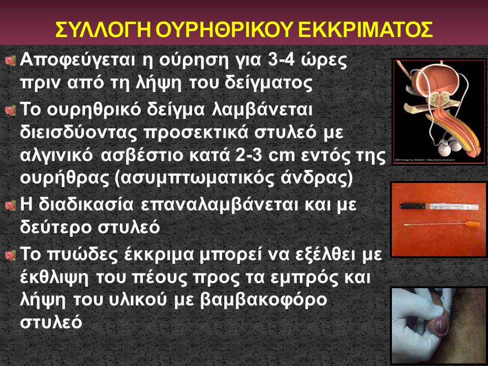 ΣΥΛΛΟΓΗ ΟΥΡΗΘΡΙΚΟΥ ΕΚΚΡΙΜΑΤΟΣ