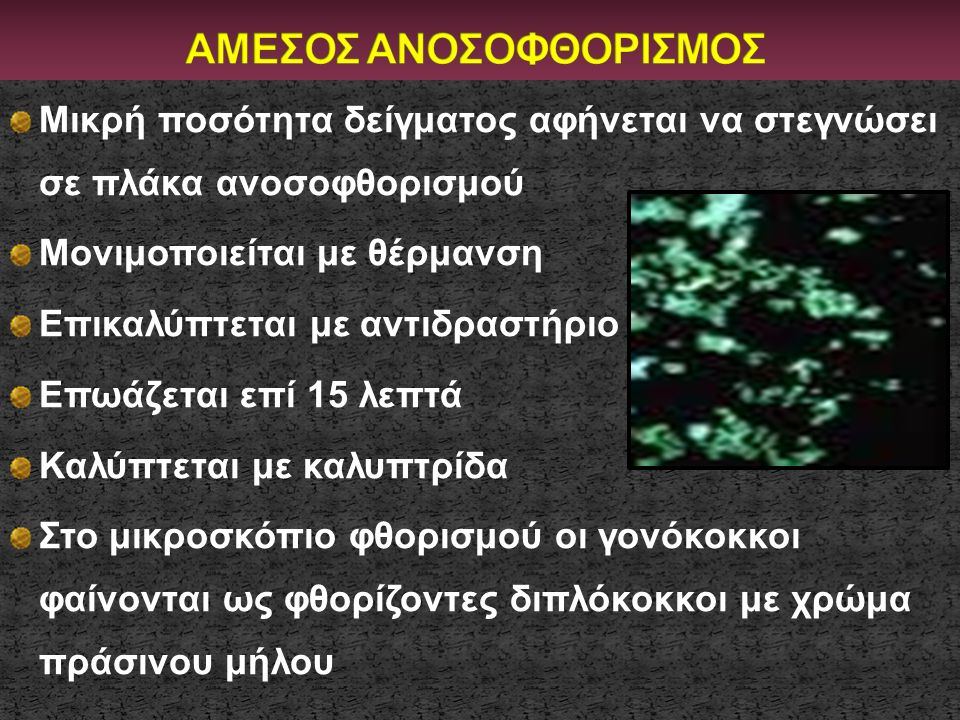 ΑΜΕΣΟΣ ΑΝΟΣΟΦΘΟΡΙΣΜΟΣ