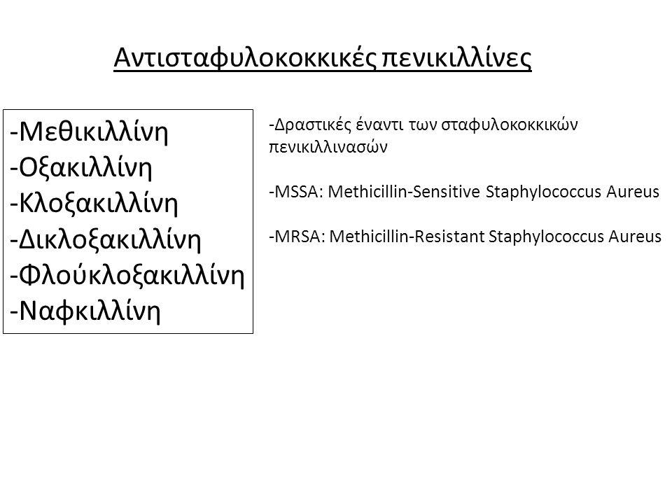 Αντισταφυλοκοκκικές πενικιλλίνες