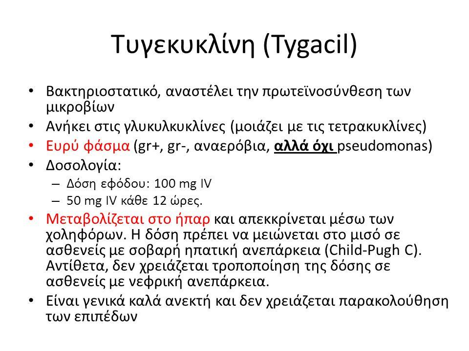 Τυγεκυκλίνη (Tygacil)