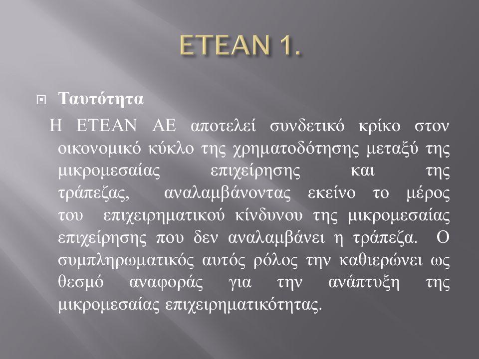 ETEAN 1. Ταυτότητα.
