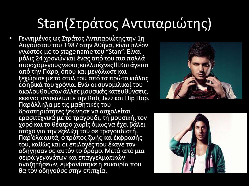 Stan(Στράτος Αντιπαριώτης)