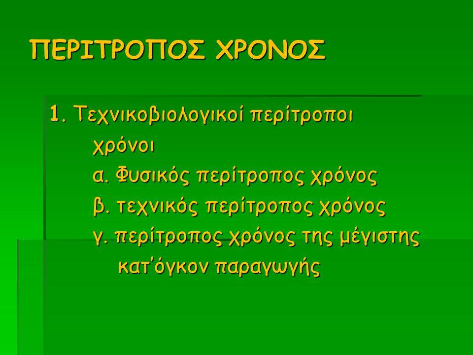 ΠΕΡΙΤΡΟΠΟΣ ΧΡΟΝΟΣ