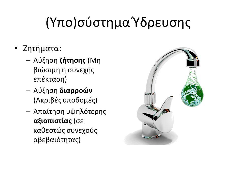 (Υπο)σύστημα Ύδρευσης