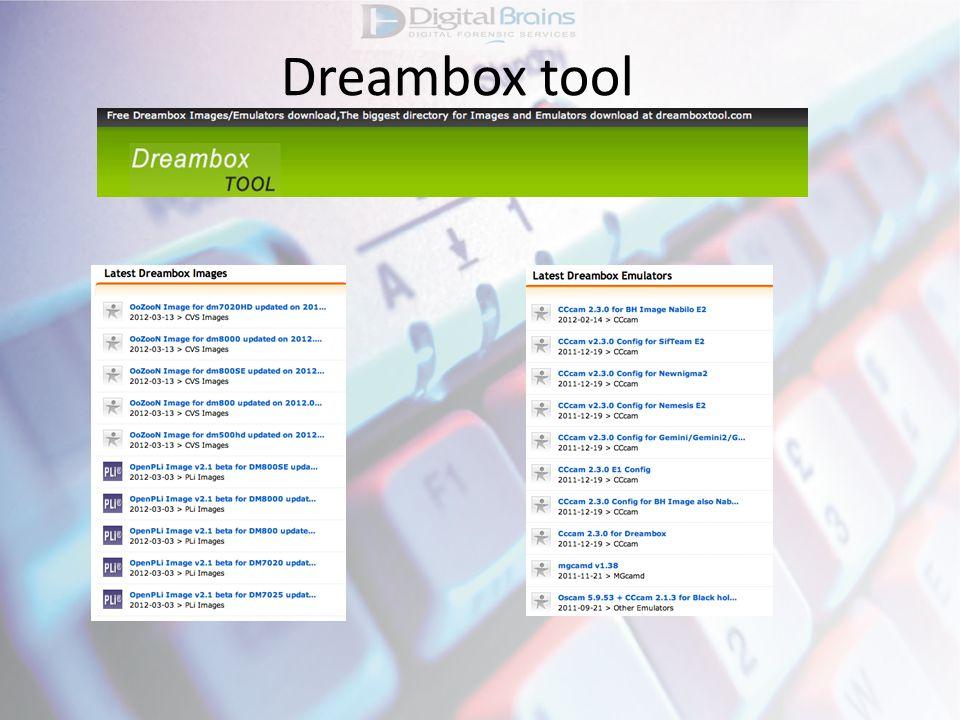 Dreambox tool