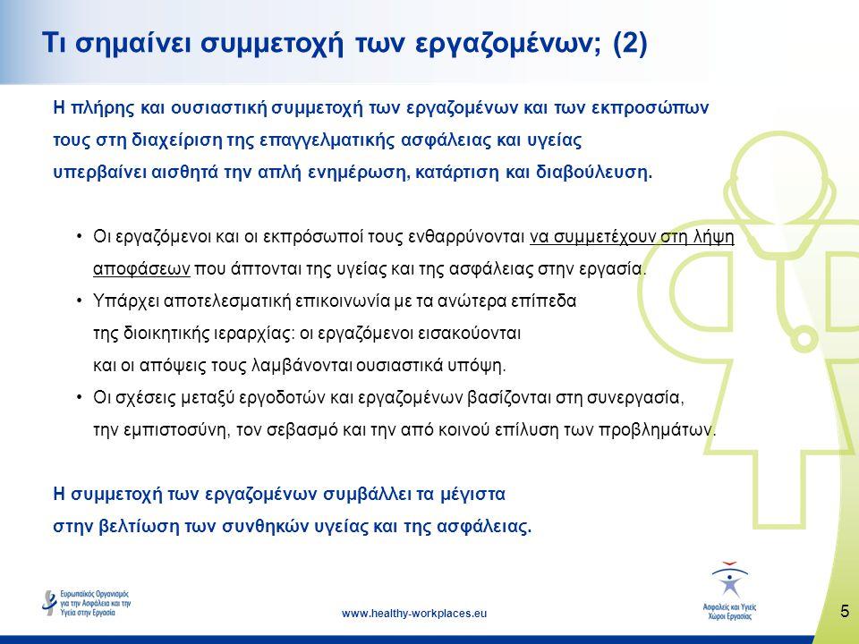 Τι σημαίνει συμμετοχή των εργαζομένων; (2)