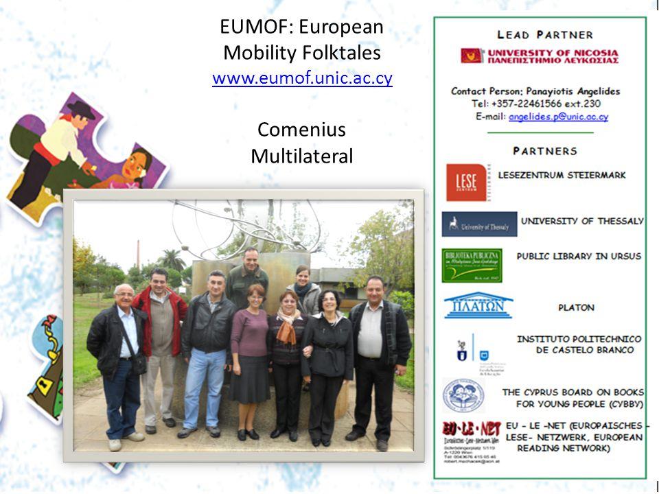 EUMOF: European Mobility Folktales www. eumof. unic. ac