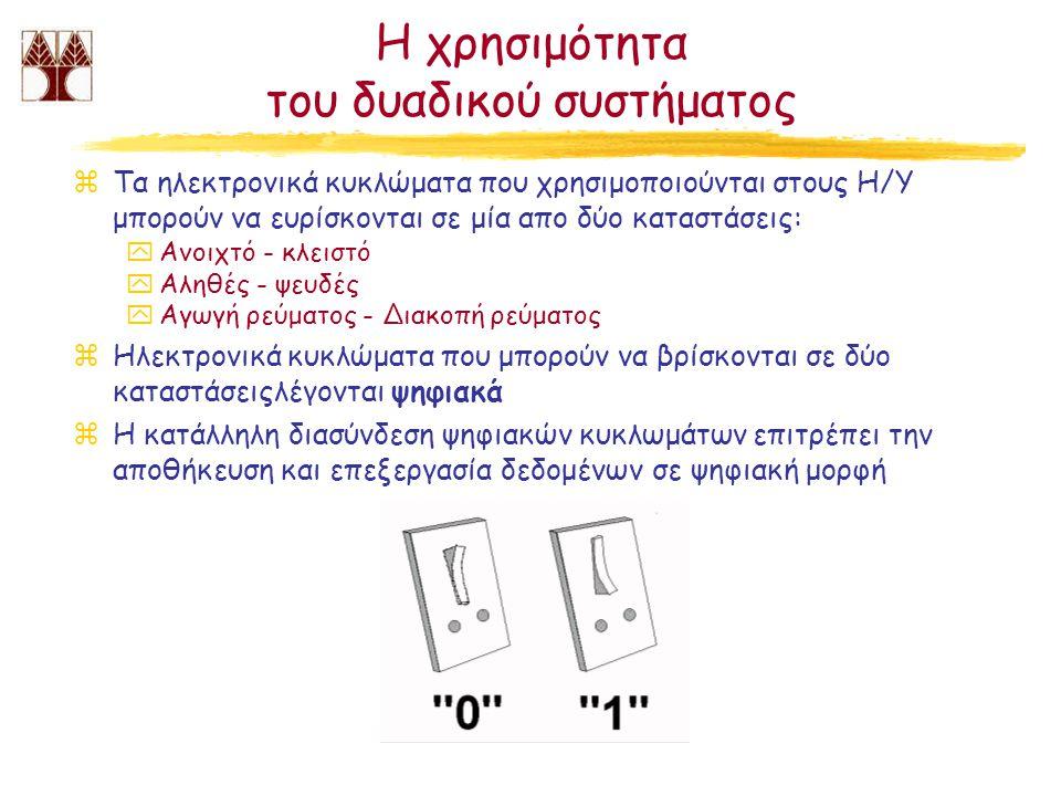 Η χρησιμότητα του δυαδικού συστήματος
