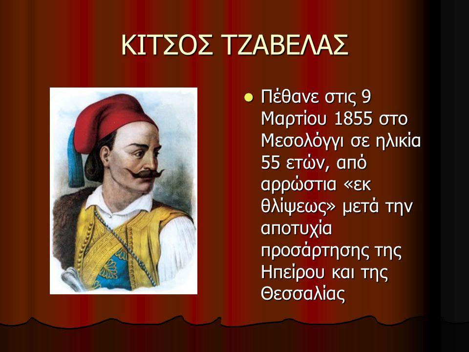 ΚΙΤΣΟΣ ΤΖΑΒΕΛΑΣ