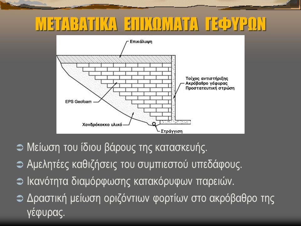 ΜΕΤΑΒΑΤΙΚΑ ΕΠΙΧΩΜΑΤΑ ΓΕΦΥΡΩΝ