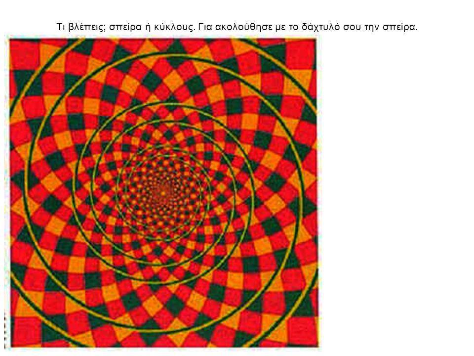 Τι βλέπεις; σπείρα ή κύκλους