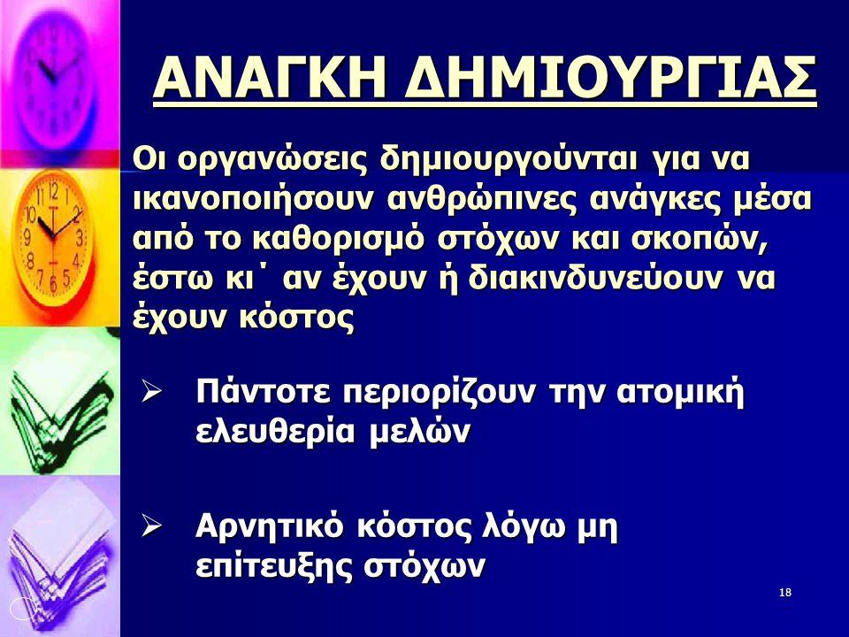 ΑΝΑΓΚΗ ΔΗΜΙΟΥΡΓΙΑΣ