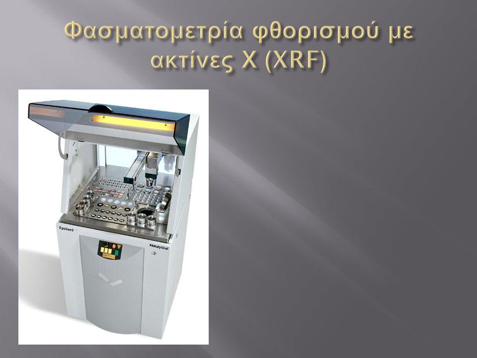 Φασματομετρία φθορισμού με ακτίνες Χ (XRF)