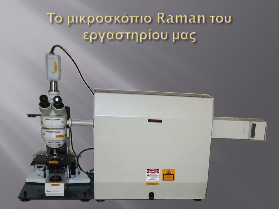 Το μικροσκόπιο Raman του εργαστηρίου μας