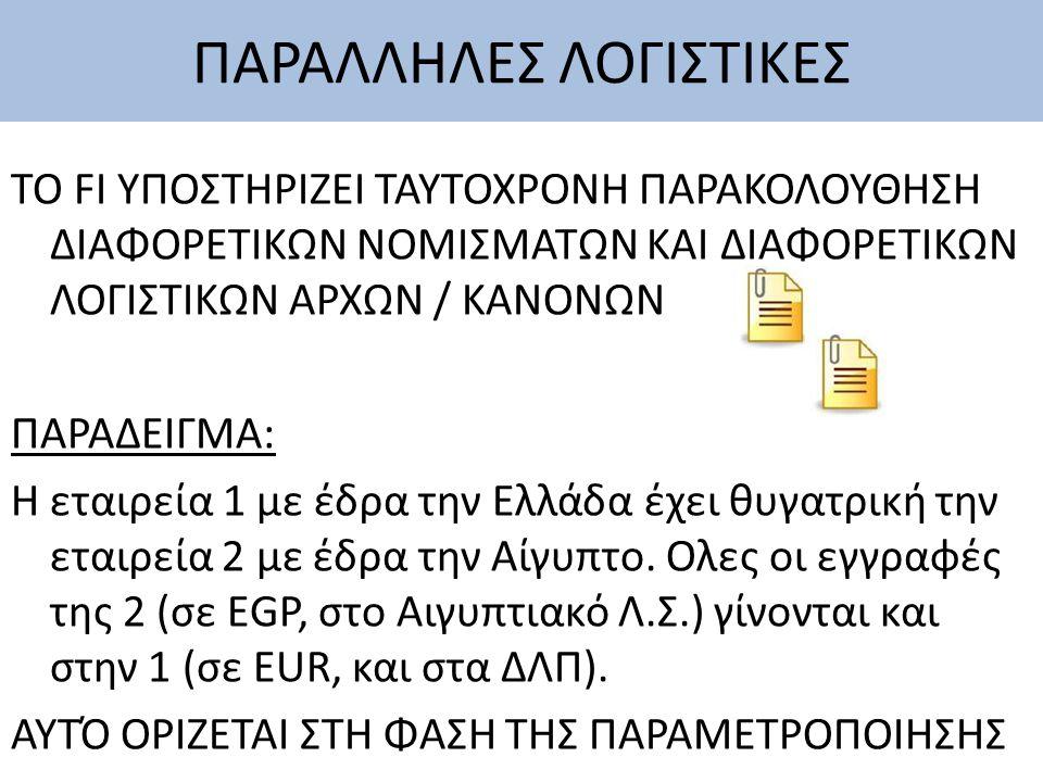 ΠΑΡΑΛΛΗΛΕΣ ΛΟΓΙΣΤΙΚΕΣ