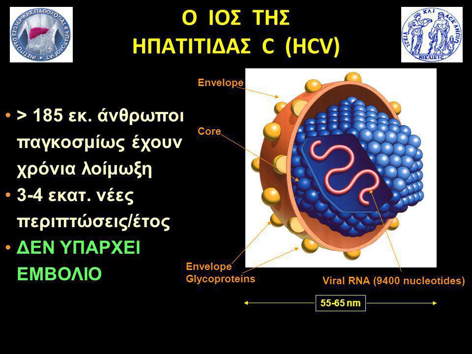 Ο ΙΟΣ ΤHΣ ΗΠΑΤΙΤΙΔΑΣ C (HCV)