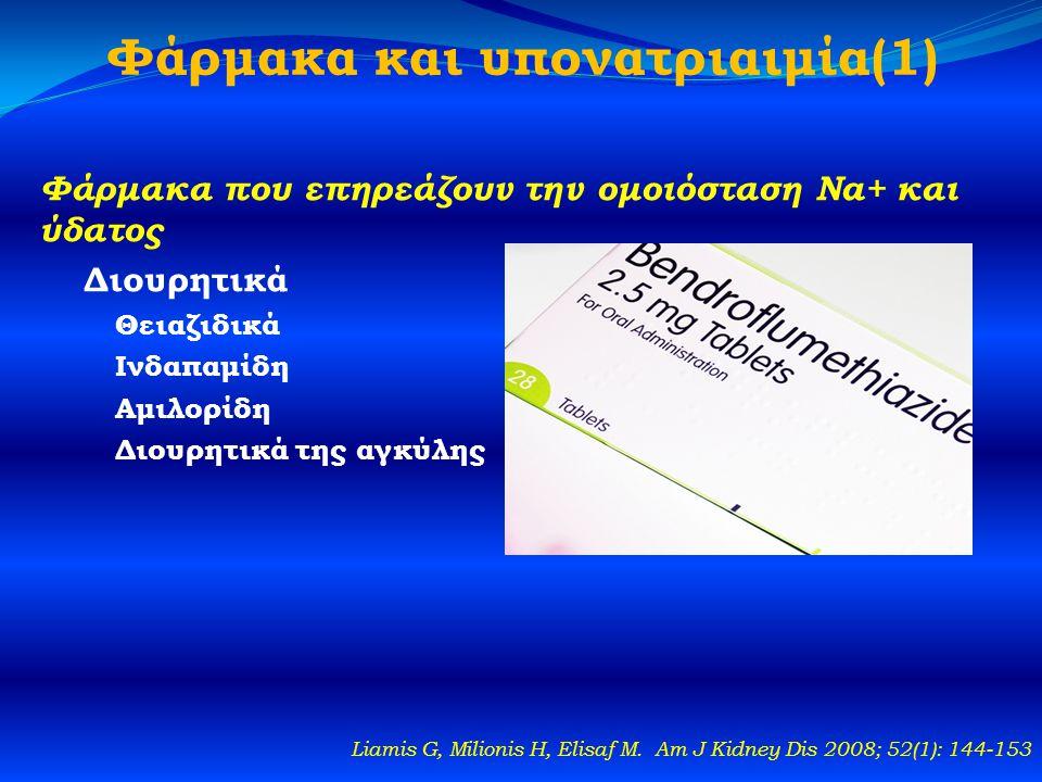 Φάρμακα και υπονατριαιμία(1)
