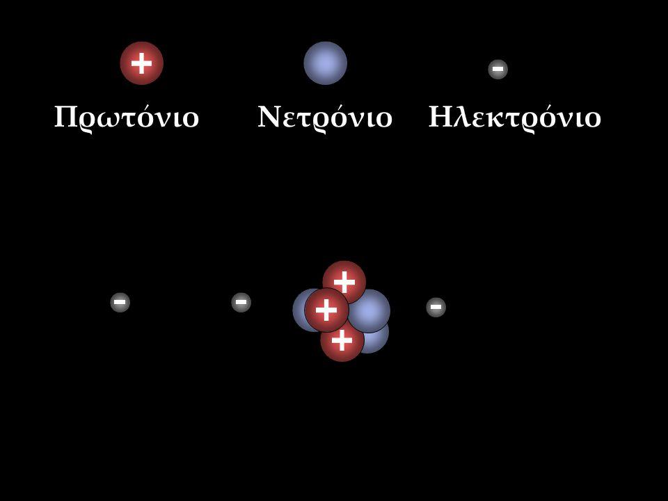 Πρωτόνιο Νετρόνιο Ηλεκτρόνιο