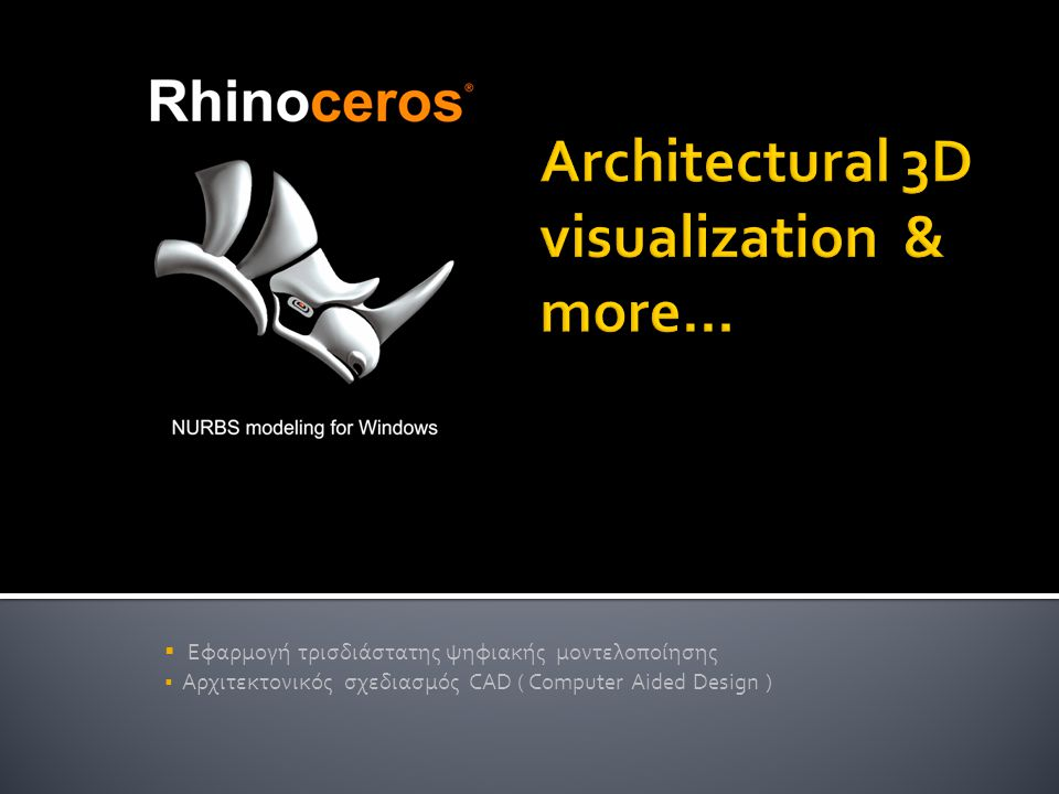 Architectural 3D visualization & more...
